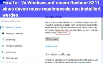 HowTo 2x Windows auf einem Rechner – eines davon muss regelmäßig neu installiert werden