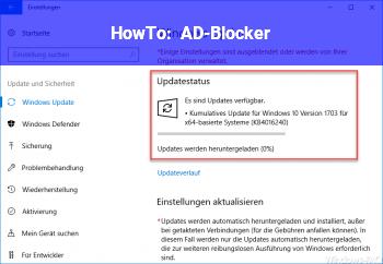 HowTo AD-Blocker