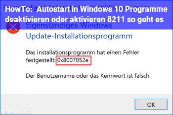 HowTo Autostart in Windows 10: Programme deaktivieren oder aktivieren – so geht es