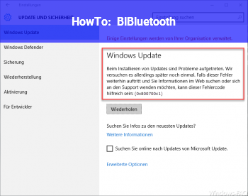 HowTo BlBluetooth