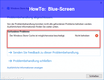 HowTo Blue-Screen