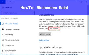 HowTo Bluescreen-Salat