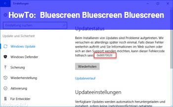 HowTo Bluescreen Bluescreen Bluescreen :/
