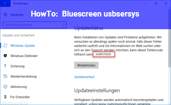 HowTo Bluescreen usbser.sys