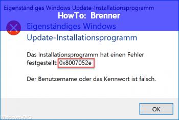 HowTo Brenner