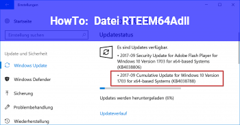 HowTo Datei RTEEM64A.dll