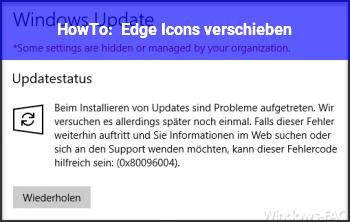 HowTo Edge Icons verschieben