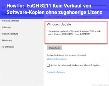 HowTo EuGH – Kein Verkauf von Software-Kopien ohne zugehörige Lizenz