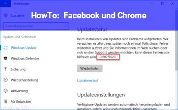 HowTo Facebook und Chrome