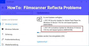HowTo Filmscanner Reflecta Probleme