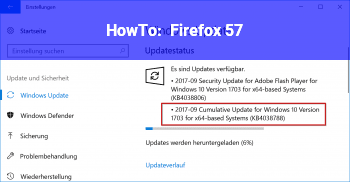 HowTo Firefox 57