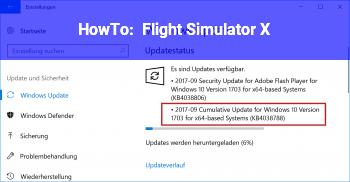 HowTo Flight Simulator X