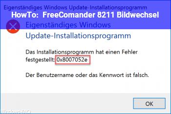 HowTo FreeComander – Bildwechsel