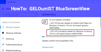 HowTo [GELÖST] BlueScreenView
