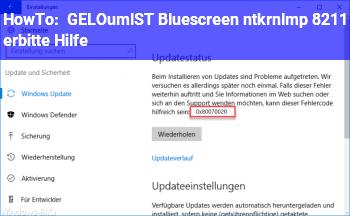 "HowTo [GELÖST] Bluescreen ""ntkrnlmp"" – erbitte Hilfe"