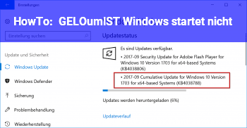 HowTo [GELÖST] Windows startet nicht !