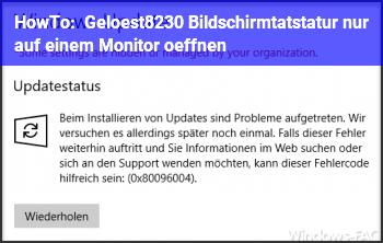 HowTo [Gelöst…] Bildschirmtatstatur nur auf einem Monitor öffnen?
