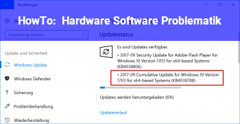 HowTo Hardware /Software Problematik