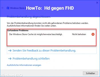 HowTo Hd+ gegen FHD
