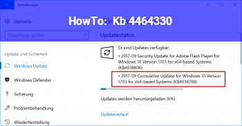 HowTo Kb 4464330