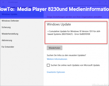 HowTo Media Player? …und Medieninformation??