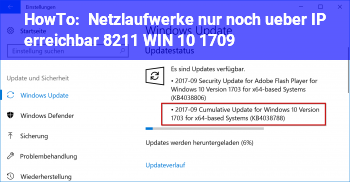 HowTo Netzlaufwerke nur noch über IP erreichbar – WIN 10 1709