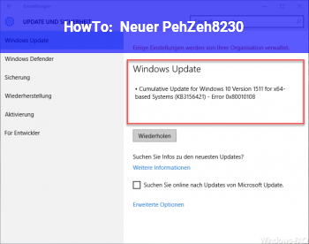 HowTo Neuer PehZeh….