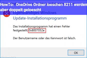 HowTo OneDrive Ordner löschen – werden aber doppelt gelöscht?