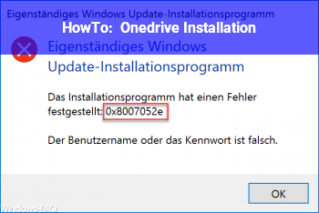 HowTo Onedrive Installation