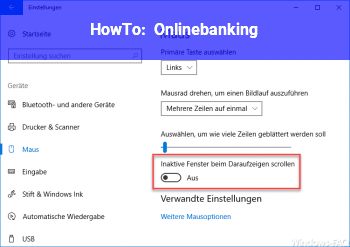 HowTo Onlinebanking