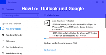 HowTo Outlook und Google