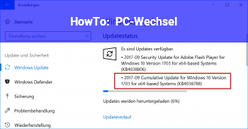 HowTo PC-Wechsel