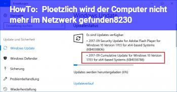 HowTo Plötzlich wird der Computer nicht mehr im Netzwerk gefunden…