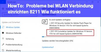 HowTo Probleme bei WLAN Verbindung einrichten – Wie funktioniert es?