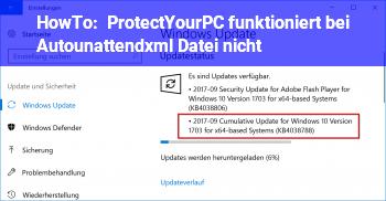 "HowTo ProtectYourPC funktioniert bei ""Autounattend.xml"" Datei nicht?"