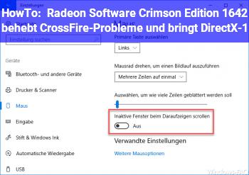 HowTo Radeon Software Crimson Edition 16.4.2 behebt CrossFire-Probleme und bringt DirectX-1