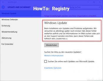 HowTo Registry