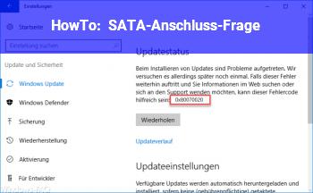 HowTo SATA-Anschluss-Frage