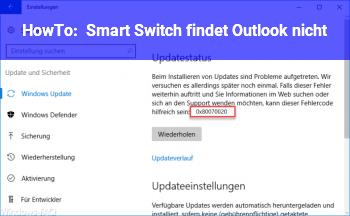 HowTo Smart Switch findet Outlook nicht