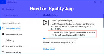 HowTo Spotify App