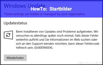 Windows 10 Startbild