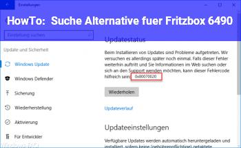HowTo Suche Alternative für Fritzbox 6490