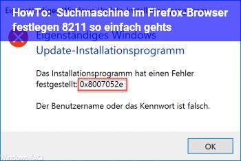 HowTo Suchmaschine im Firefox-Browser festlegen – so einfach geht's