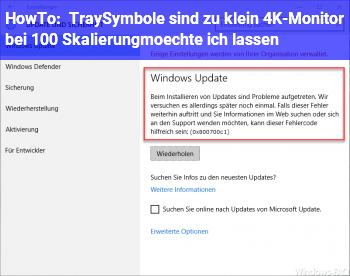 HowTo TraySymbole sind zu klein (4K-Monitor bei 100% Skalierung,möchte ich lassen)