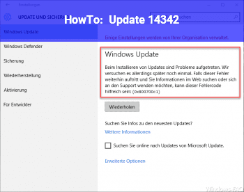 HowTo Update 14342