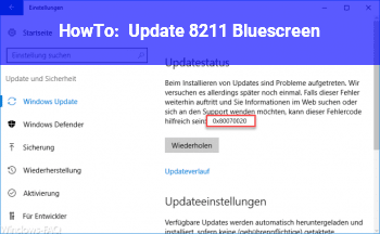 HowTo Update – Bluescreen