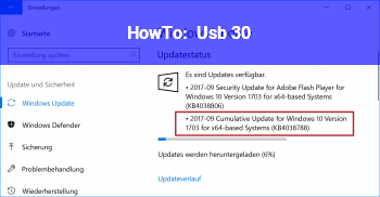 HowTo Usb 3.0