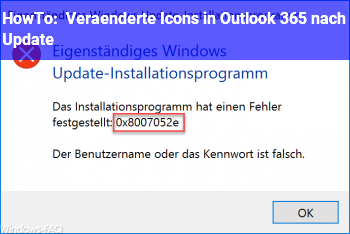 HowTo Veränderte Icons in Outlook 365 nach Update