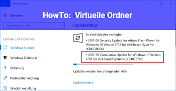 HowTo Virtuelle Ordner