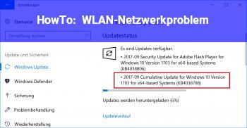 HowTo WLAN-Netzwerkproblem